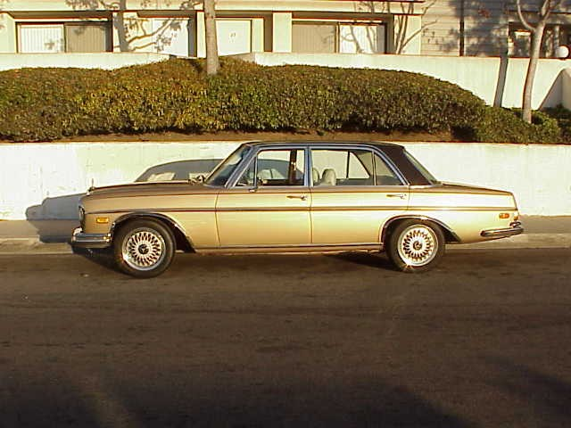 1969 300 SEL 6.3 with  16 in HRE wheels 215_55-Z16 tires