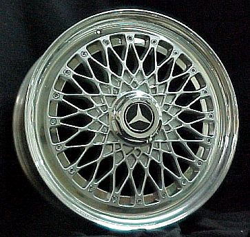 16 inch HRE 3 piece rims