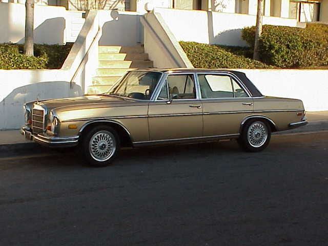1969 300  SEL 6.3 with 16 in HRE wheels 215_55-16 tires